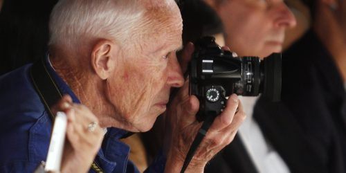 Bill Cunningham by Carlo Allegri (Reuters)