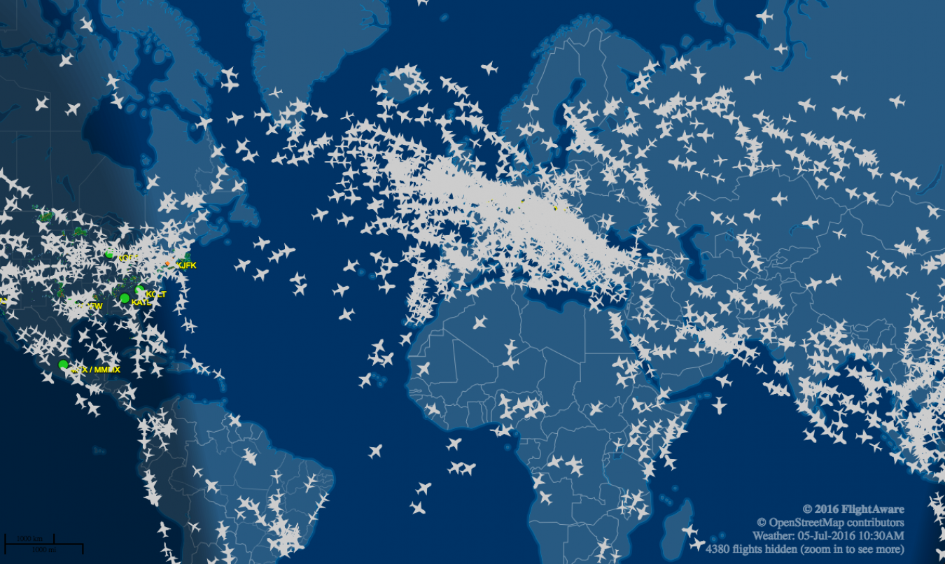 flightaware.com LIVE FLIGHT TRACKING