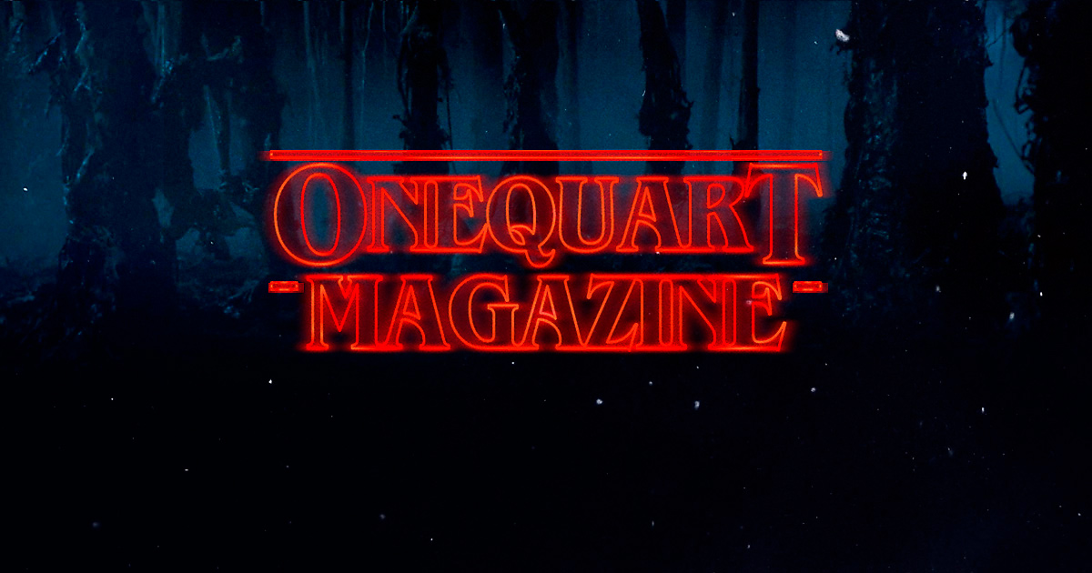 Timo Bontenbal One Quart Magazine Stranger Things