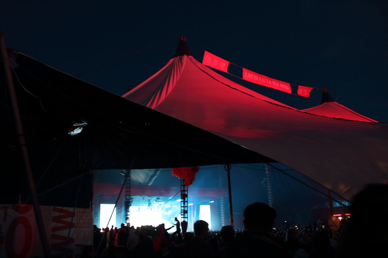 FLOW RED TENT