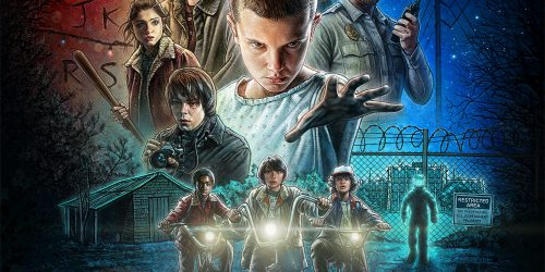 Stranger Things Poster Courtesy of Netflix