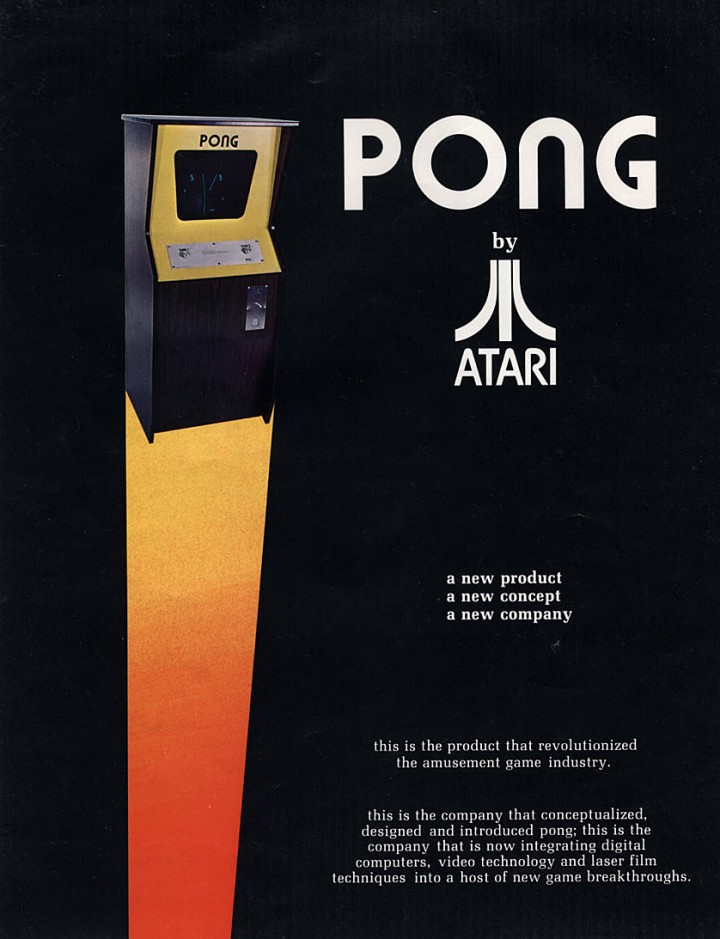 Pong Advert By Atari 1972