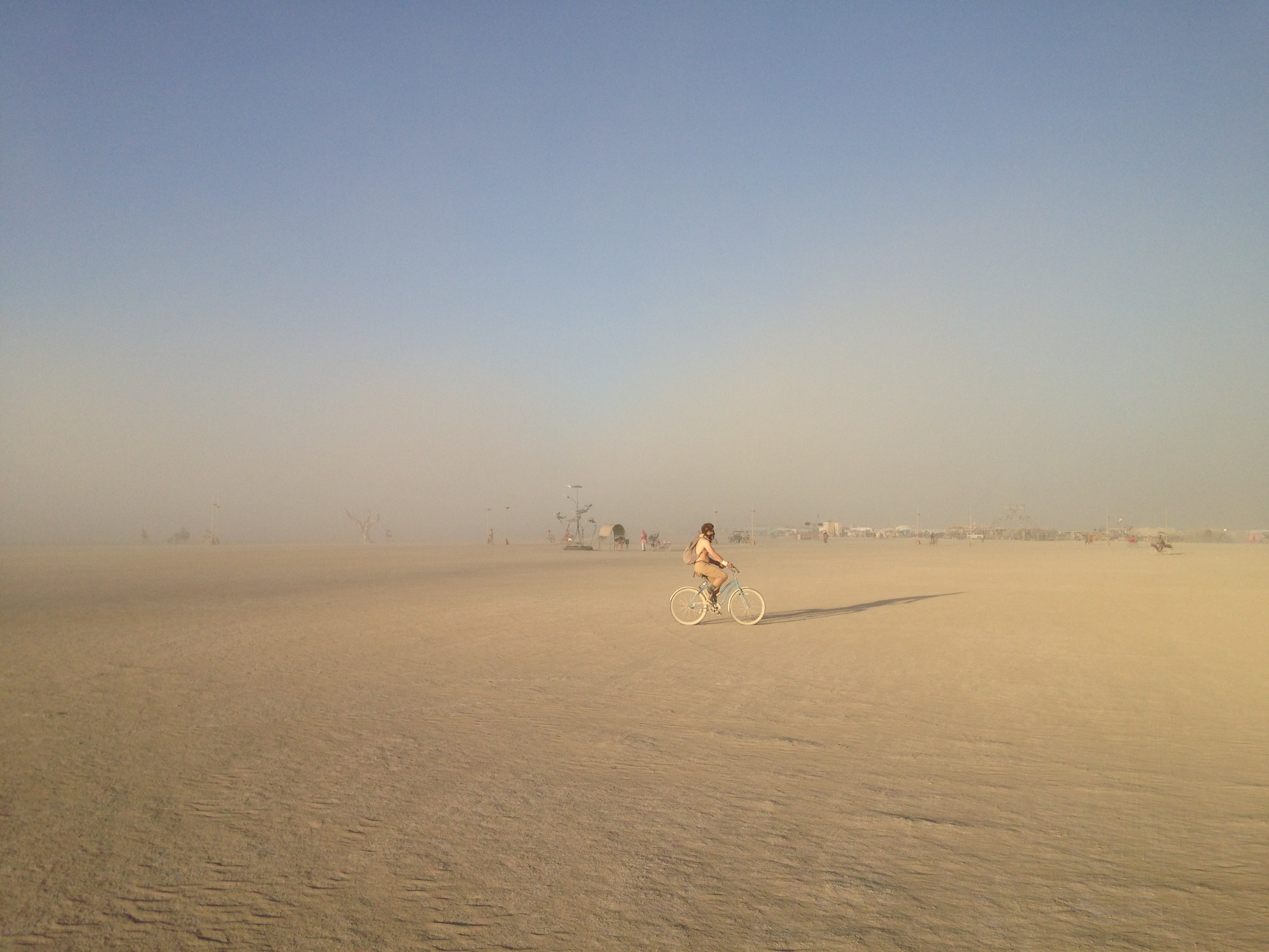 Burning Man desert