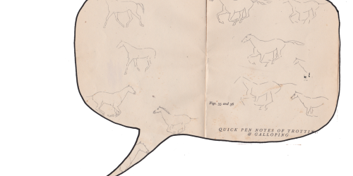 Sivistys. John Skeaping: How to draw horses (1941).