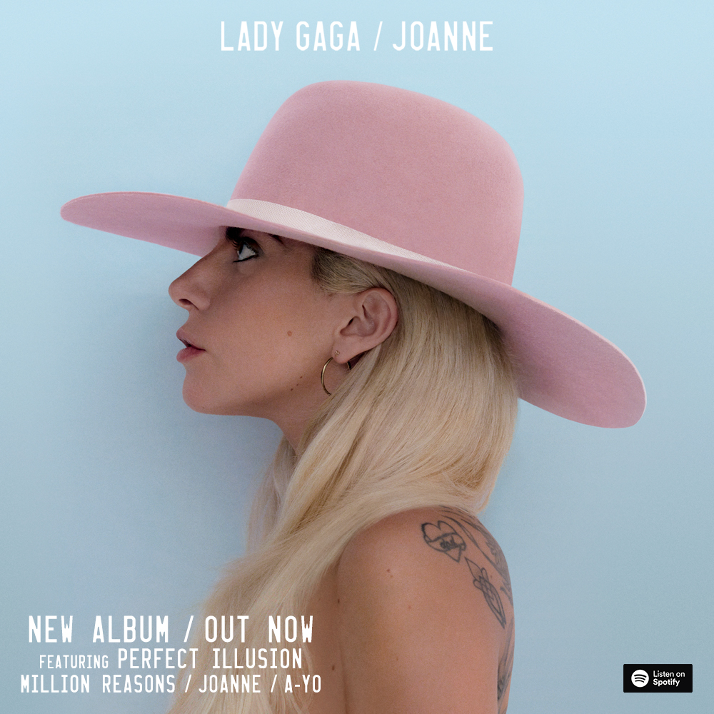 Joanne album sleeve via Interscope